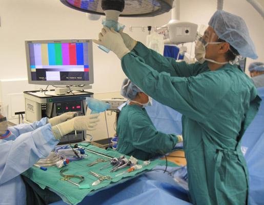 Laparoscopy hernia repair